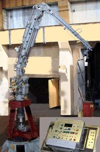 Кран-манипулятор КМ-1
