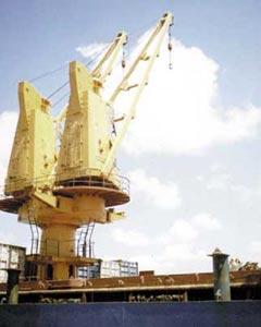 Краны грузовые электрогидравлические грузоподъемностью 10; 12,5 и 25 тонн