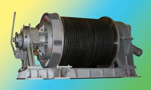 Буксирная лебедка ЛБГ-40