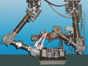 Специализированный манипуляторный комплекс для подводных работ