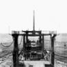 Устройства передачи сухих и жидких грузов в море на ходу траверзным способом